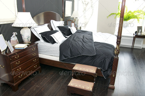 bedroom - Stock Photo - Images