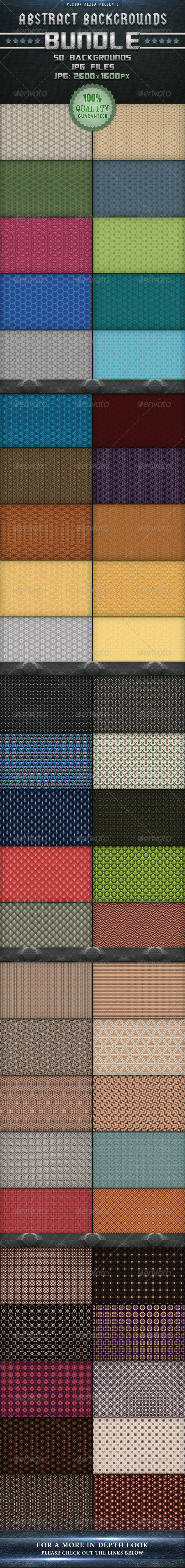 GraphicRiver Abstract Backgrounds Bundle 3353740