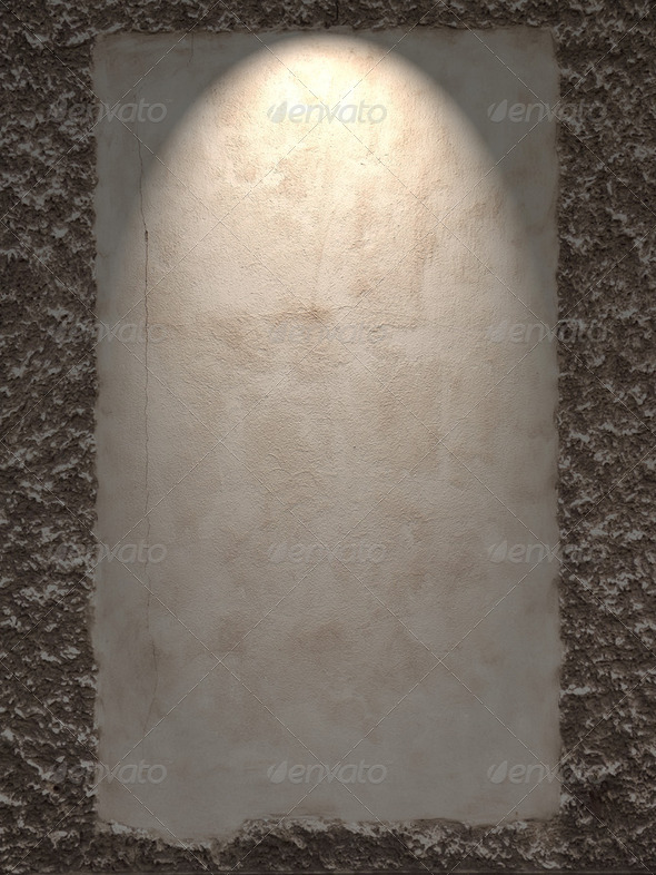 Wall Frame Spotlight - Stock Photo - Images