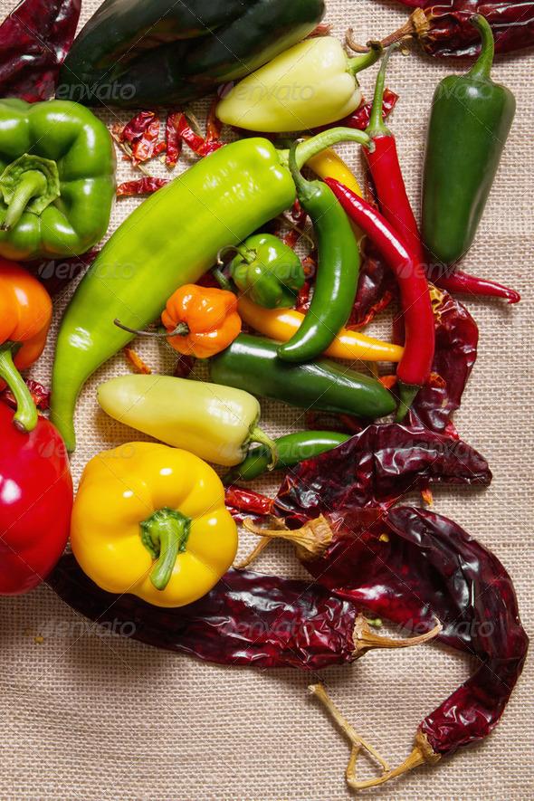 Chilli pepper still life