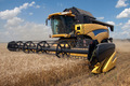 Combine harvester working on a wheat field - PhotoDune Item for Sale