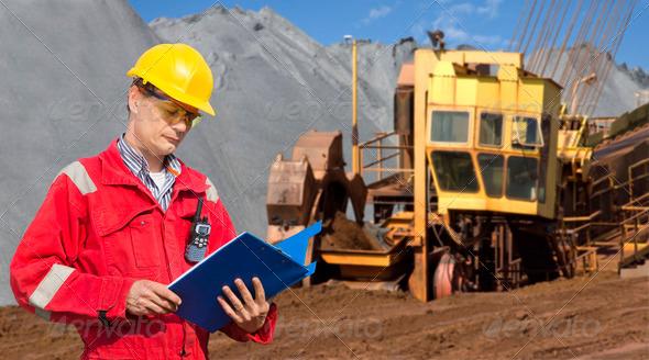 PhotoDune Mining foreman 2435301