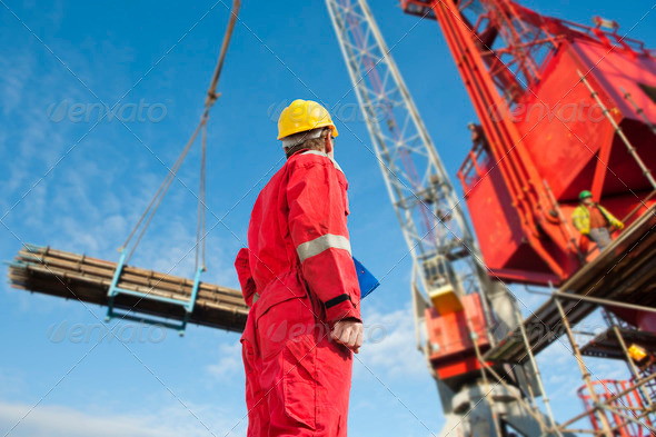 Construction operator - Stock Photo - Images