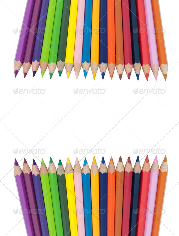 Colorful Pencils - Stock Photo - Images