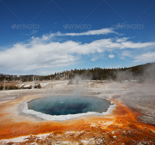 Yellowstone - Stock Photo - Images