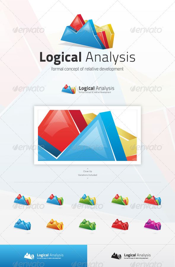 Logical Analysis Logo - Abstract Logo Templates