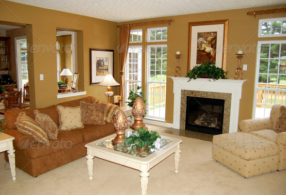 Family room - Stock Photo - Images