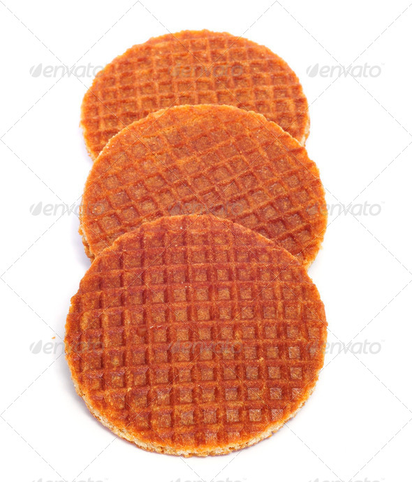 stroopwafels - Stock Photo - Images