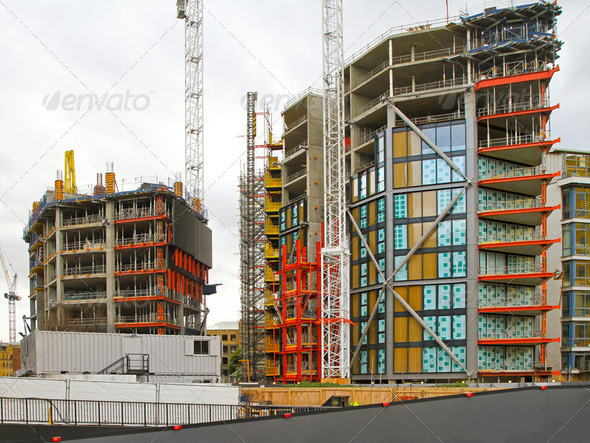 Building construction - Stock Photo - Images