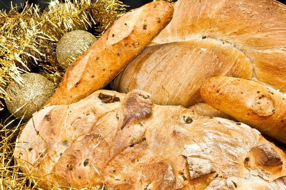 Closeup Of Bread - Stock Photo - Images