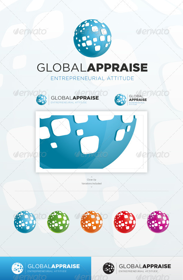 Foreign Advisors - Abstract Logo Templates