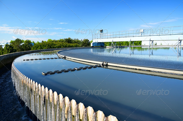 PhotoDune Modern urban wastewater treatment plant 2448894