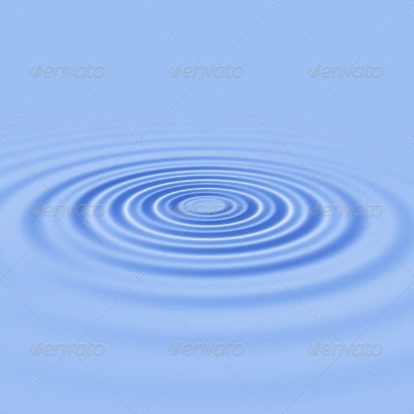 Water ripples - Stock Photo - Images
