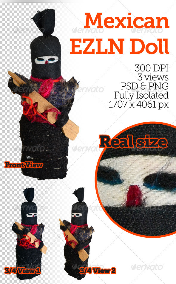 Mexican EZLN Doll - Miscellaneous Isolated Objects
