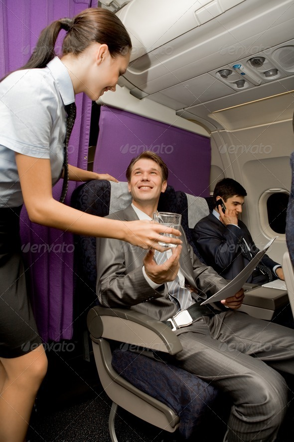 Airplane service - Stock Photo - Images