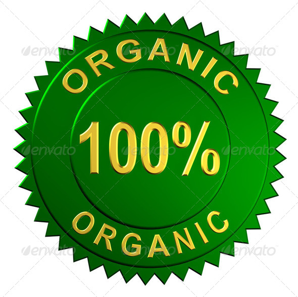 Organic Sign - Stock Photo - Images