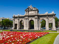 Alcala Gate in Independence Square, Madrid - PhotoDune Item for Sale