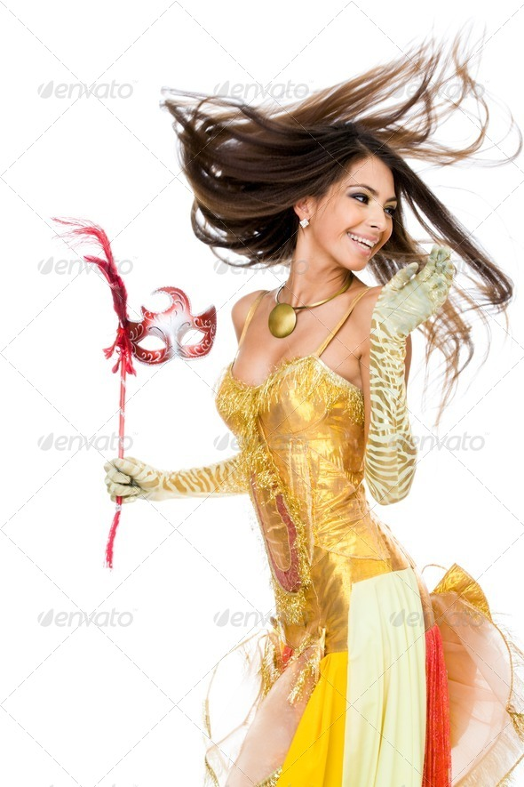 PhotoDune Dancing female 358852