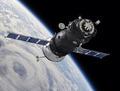 Spaceship on the Orbit - PhotoDune Item for Sale