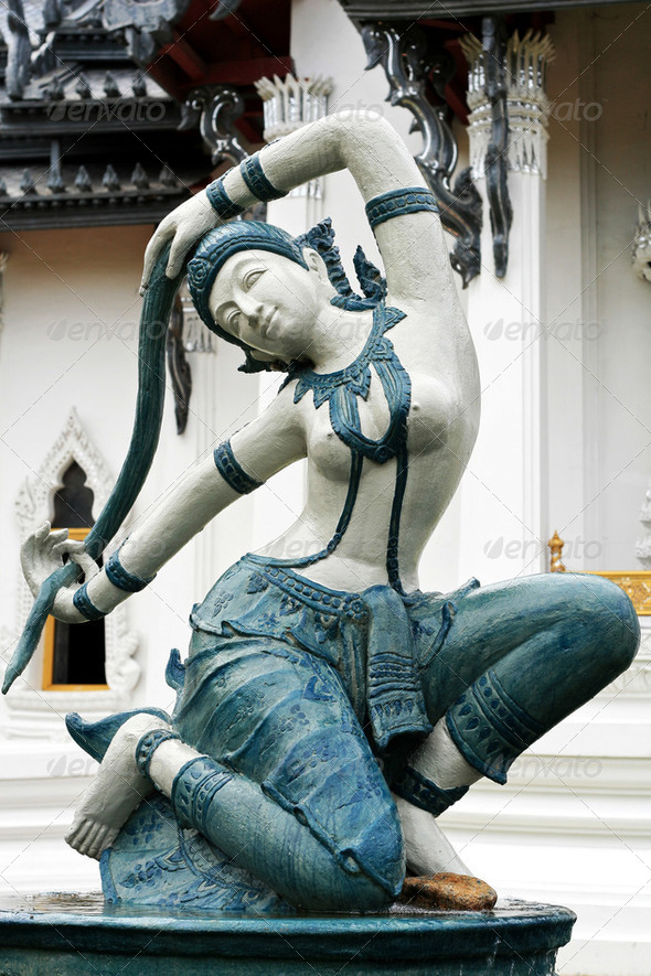 Thai Statue Art - Stock Photo - Images