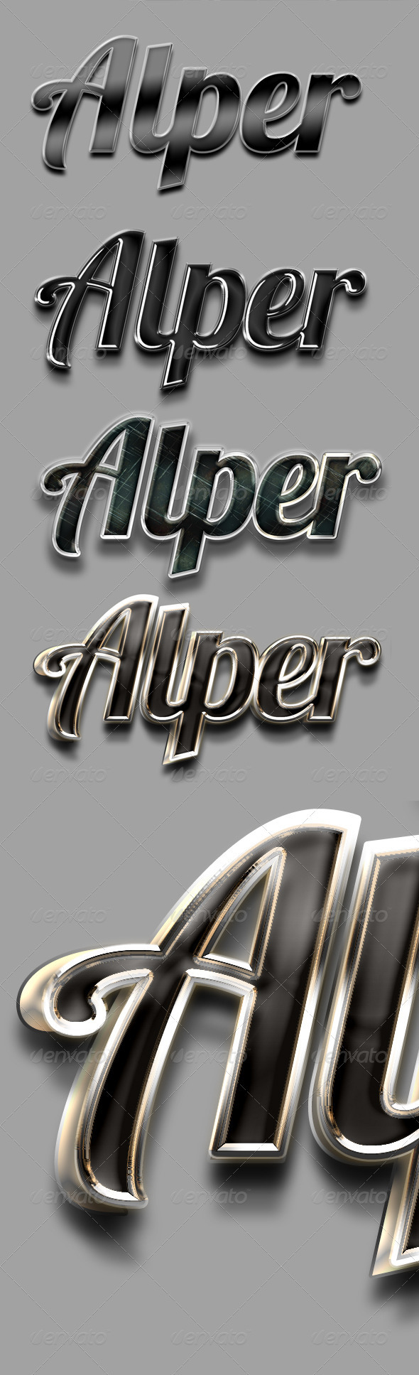 GraphicRiver Elegant Black Text & Style 3354222