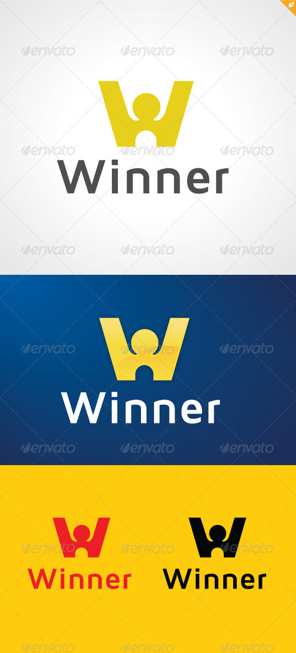 GraphicRiver The Winner Logo 3354232