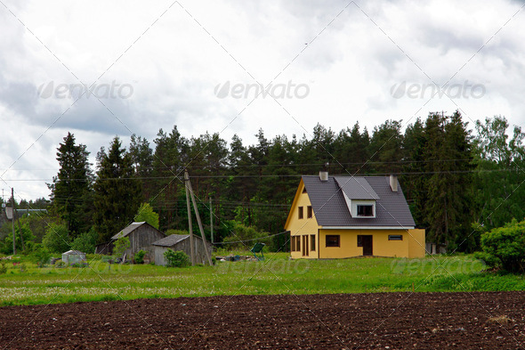 The house - Stock Photo - Images