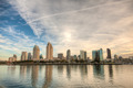 San Diego City Skyline on a Bright Sunny Day - PhotoDune Item for Sale