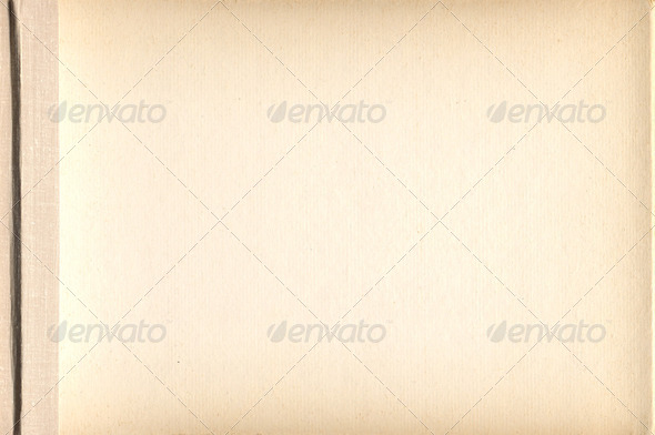 grunge vintage old paper background, page album - Stock Photo - Images