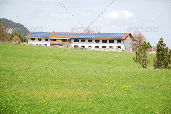 Ecological Farm - Stock Photo - Images