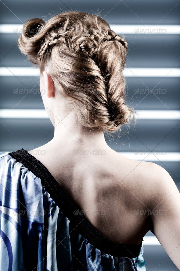 Hair styling - Stock Photo - Images