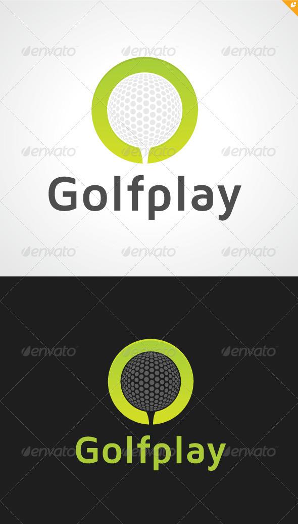 GraphicRiver Golf Play Logo 3354530