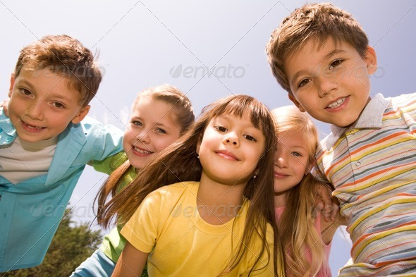 PhotoDune Happy kids 359366