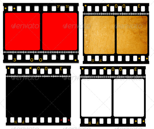 Movie film - Stock Photo - Images