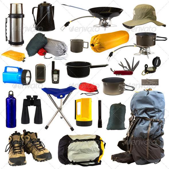 PhotoDune Camping Gear 2479857