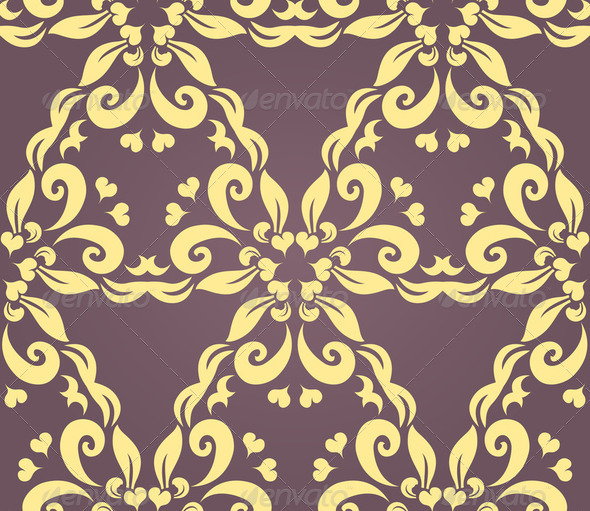 Seamless floral pattern - Stock Photo - Images