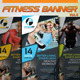 Fitness Banner Vol.4 - GraphicRiver Item for Sale