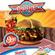 Fast Food Flyer Template - A4 - GraphicRiver Item for Sale