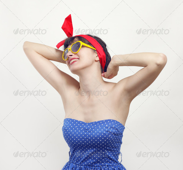 pin up - Stock Photo - Images