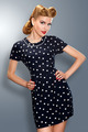 Pin-up girl in retro vintage old-fashioned dress posing - PhotoDune Item for Sale