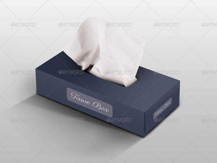 tissue box mockup free 2