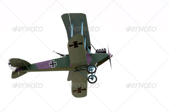 Vintage Biplane - Stock Photo - Images