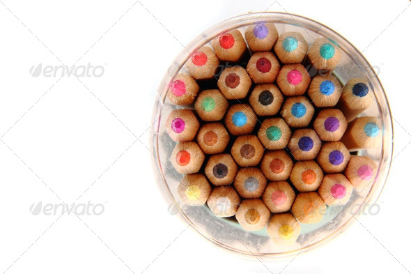 color crayons - Stock Photo - Images