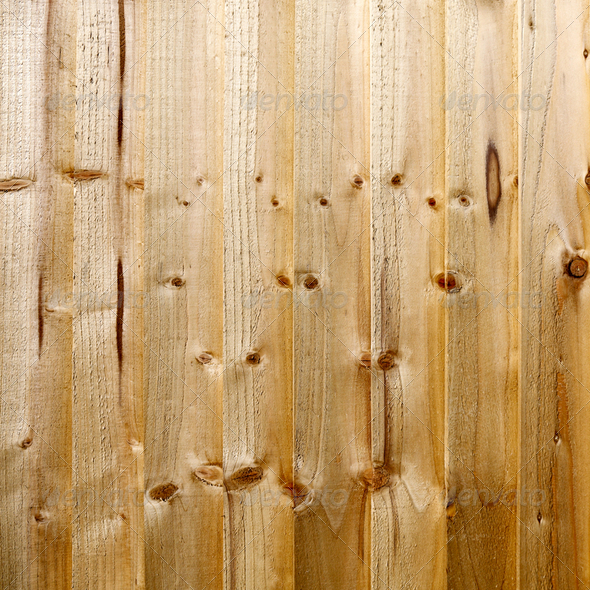 Wooden fence - Stock Photo - Images