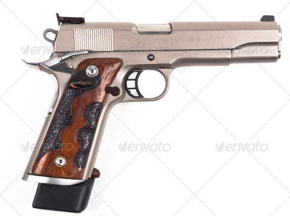 Pistol Side - Stock Photo - Images