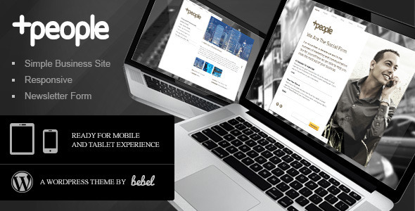 ThemeForest &People Premium Business WordPress Theme 2959437