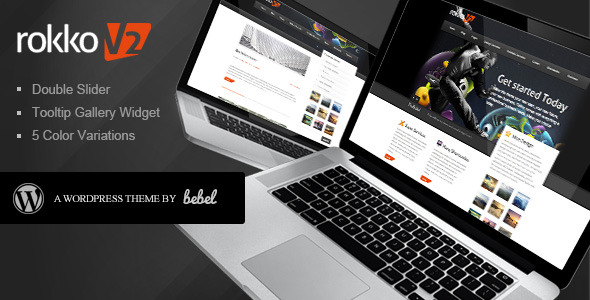 Rokko:Business & Portfolio Premium Wordpress Theme