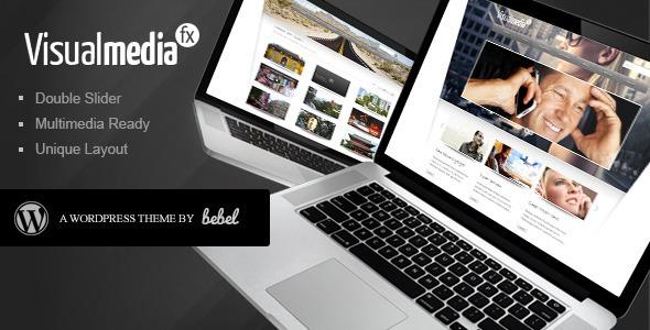 ThemeForest VisualMedia Special FX Wordpress Theme 138329