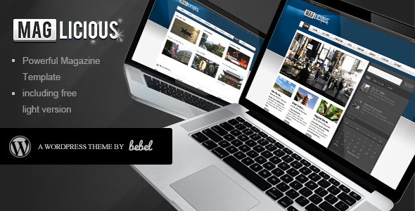 ThemeForest Maglicious Magazine WP 128387