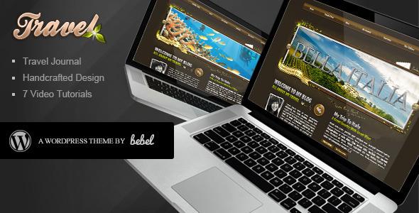 ThemeForest World Traveler Wordpress 111635